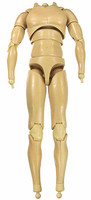 X-Series Nude: Caucasian Pale XP1 - Nude Body w/ Hand & Feet Joints