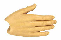 X-Series Nude: Caucasian Pale XP1 - Right Flat Hand