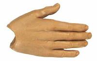 X-Series Nude: Caucasian Tan XT1 - Right Flat Hand