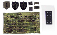 US Army ISAF Soldier in Afghanistan - Patches