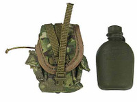 US Army ISAF Soldier in Afghanistan - Canteen w/ Pouch