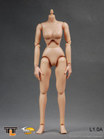 TTL - Female Body w/ Small Breast L1.0A Nude Body Set (No Head)