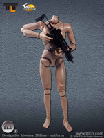 TTL - Male 1.0B Nude Body Set (No Head) (Weapon NOT Included)