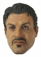 Expendables 2: Barney Ross - Head (No Neck Joint)