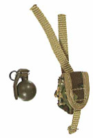 VH: US Army 82nd Airborne Division - Grenade w/ Pouch