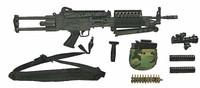 Navy SEAL Reconteam SAW Gunner - SAW Machine Gun w/ Accessories