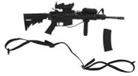 VH: US Army EOD - Machine Gun w/ Accessories