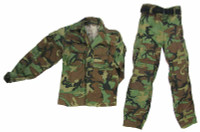 Navy SEAL Riverine Ops Rifleman (Woodland Camo) - Uniform W/ Belt