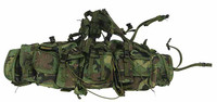Navy SEAL Riverine Ops Rifleman (Woodland Camo) - Pouch Rig