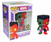 FUNKO POP Vinyl: Marvel - Toy Anxiety Exclusive Compound Hulk Boxed Figure (Limit 1 per Customer)