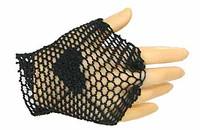 Fire White Rose - Right Fishnet Gloved Hand