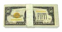 Chicago Gangster John - $50 Dollar Bill Bundle