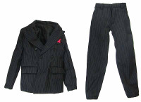 Chicago Gangster John - Pinstriped Suit Coat & Pants