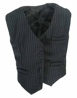 Chicago Gangster John - Pinstriped Vest