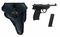 German Zombie: Jakob -  Pistol w/ Holster