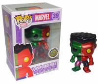 FUNKO POP Vinyl: Marvel - Toy Anxiety Exclusive METALLIC Compound Hulk Boxed Figure