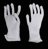 Frank: USMC Force Recon - White Gloves (For Bendy Hands)