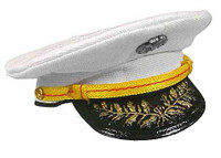 Frank: USMC Force Recon - White Dress Hat