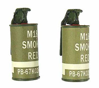 LAPD SWAT - Smoke Grenades (2 Red)