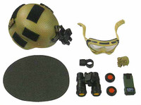 MARSOC: Team Operator - Helmet w/ Accessories