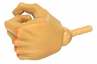 Gangster Kingdom: Spade 3 - Left Tight Grip Hand