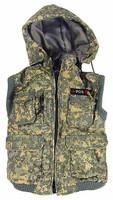 Gangster Kingdom: Spade 3 - Vest w/ Hood