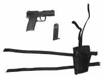 Female Agent - Pistol w/ Left Hand Holster