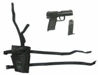 Female Agent - Pistol w/ Right Hand Holster