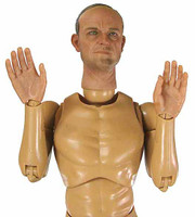 General Eisenhower - Nude Figure (Neck Joint Loose)