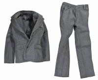VC: Men's Suits - Grey Suit Coat & Pants