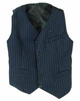 VC: Men's Suits - Blue Pinstriped Vest