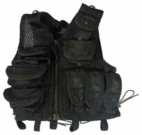 FBI Biochemical Weapons Expert - Black Tactical Vest