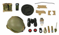USAF Pararescue Jumpers Type B - Helmet w/ Accessories
