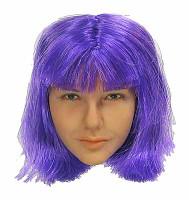 Purple Girl -  Head (No Neck Joint) (Limit 1)