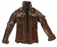 Gangster Kingdom: Spade 4 - Brown Leather Jacket