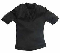 Gangster Kingdom: Spade 4 - V-Neck T-Shirt (Black)