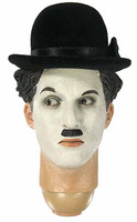 The Tramp: Charlie Chaplin - Head w/ Serious Expression w/ Neck Joint (See Note)