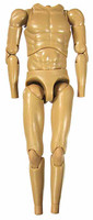 The Tramp: Charlie Chaplin - Nude Body