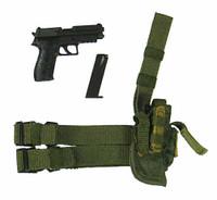 Navy Seal Reconteam Sniper - Pistol w/ Leg Holster