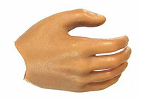 ZY - Male Muscular Nude - Right Relaxed Hand