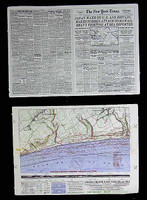 Sniper Elite - Newspaper & Map (See Note)