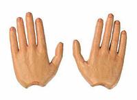 Michael Wittman: SS Hauptsturmfuhrer - Hands w/ Bendable Fingers