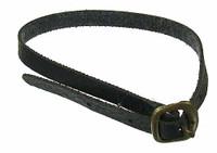 Leather Bomber Jacket Set - Belt