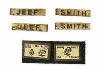 Reconnaissance Battalion M27 Rifleman - Patches