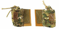VH: Navy Seal HALO UDT Jumper: Dry Suit Version - 2 Tan and Camo Pouches