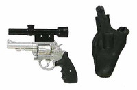 Escape From New York: Snake Plissken - Revolver w/ Scope, Holster & Removable Bullets