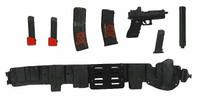 ZERT Jameson Youngblood Deathridge - Belt Pistol & Ammo Set