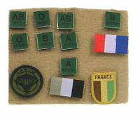 French Special Force - Patches