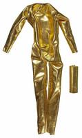 PH Customs - Gold Spandex Body Suit w/ Collar (Velcro Back)