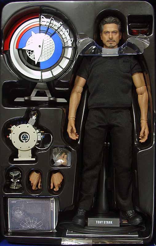 Iron Man 2: Tony Stark Arc Reactor Creation - Boxed Figure ...